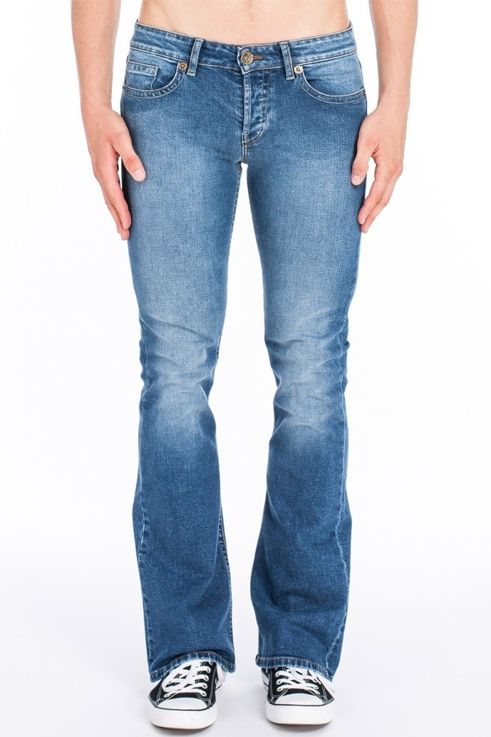 Jeans Fred Kamino Donkerblauw Used
