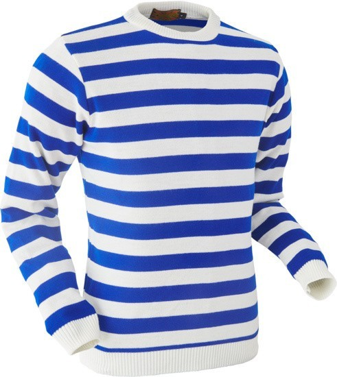 Gestreept blauw wit Sweater kopen | BESLIST.nl | Ruime