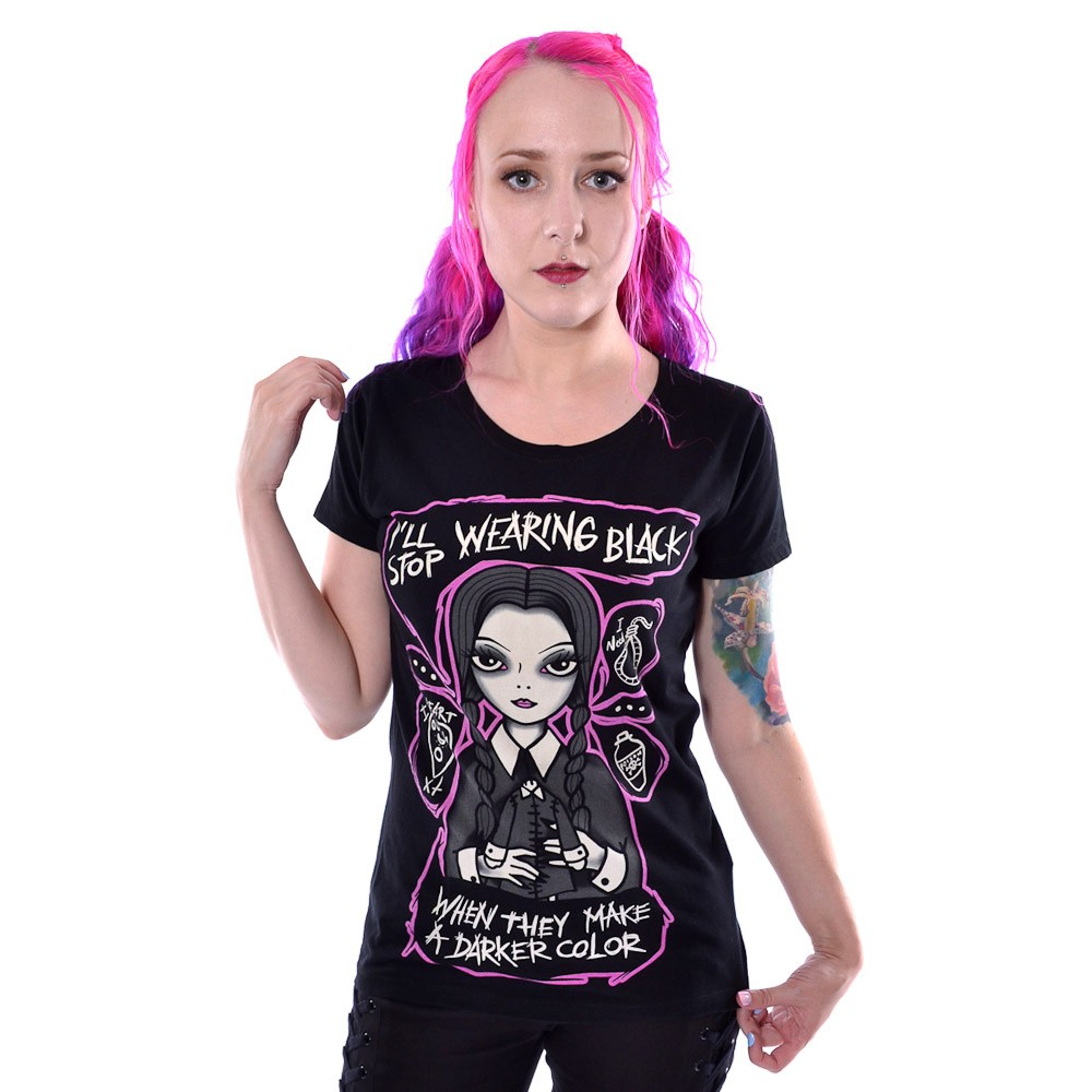 T-shirt darker Wednesday