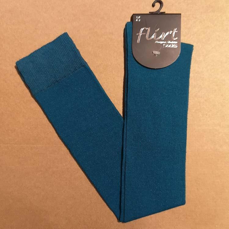Flirt | Overknee sokken blauw