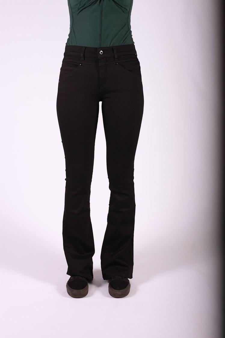 ATO Berlin, jeans Karlie, zwarte stretch