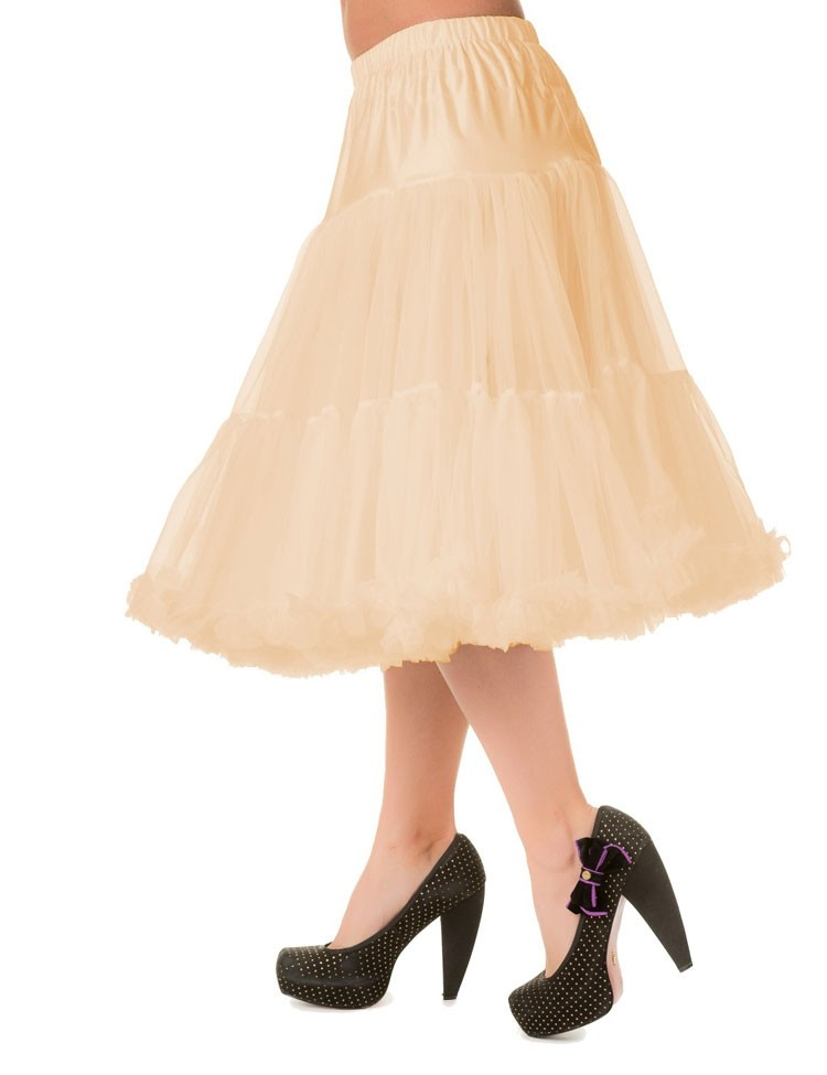 Petticoat Lifeforms Kuitlang met extra volume, champagne