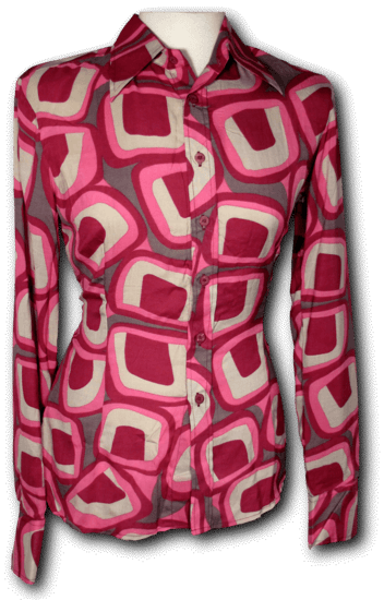 Blouse Square Pink