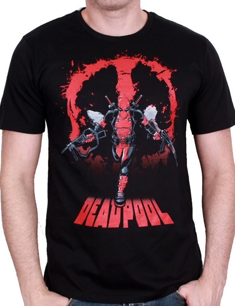 T-shirt Deadpool Attack