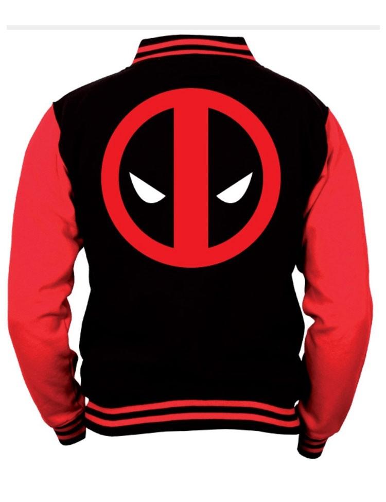 College Vest Deadpool Logo