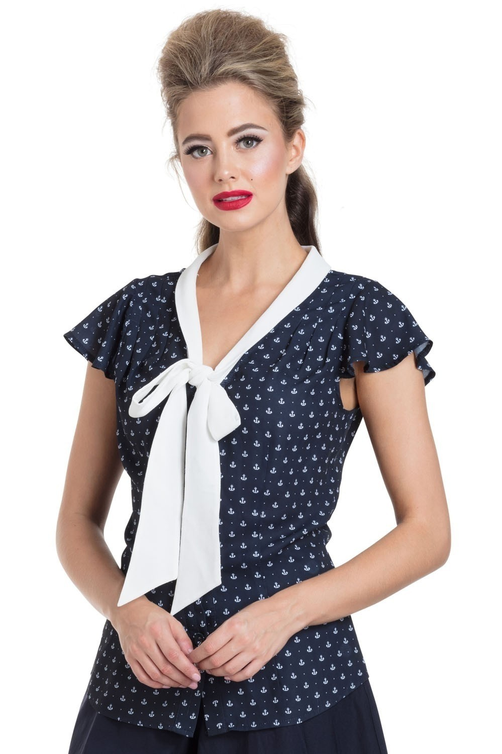 Blouse Susan nautical