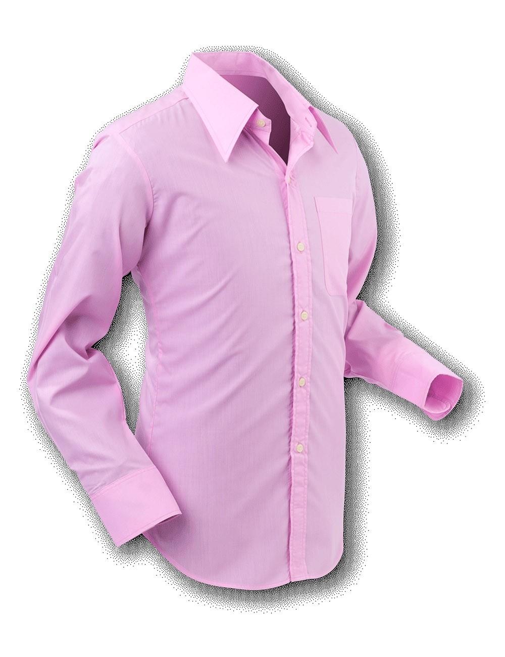 Chenaski | Overhemd 70s Basic Rose-Pink