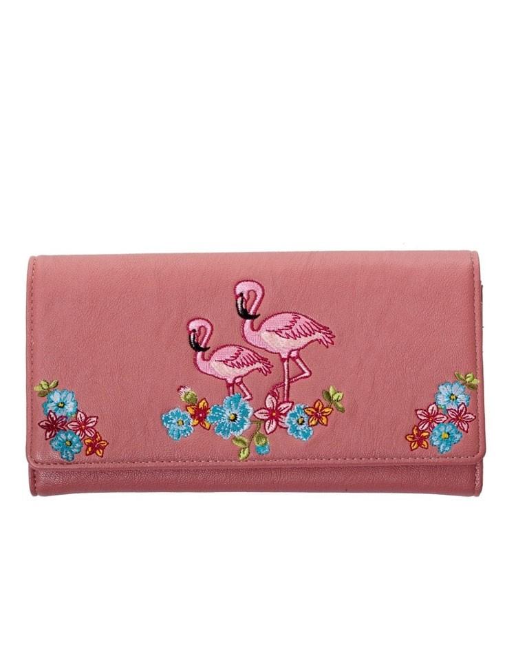 Portemonnee Flamingo Oudroze