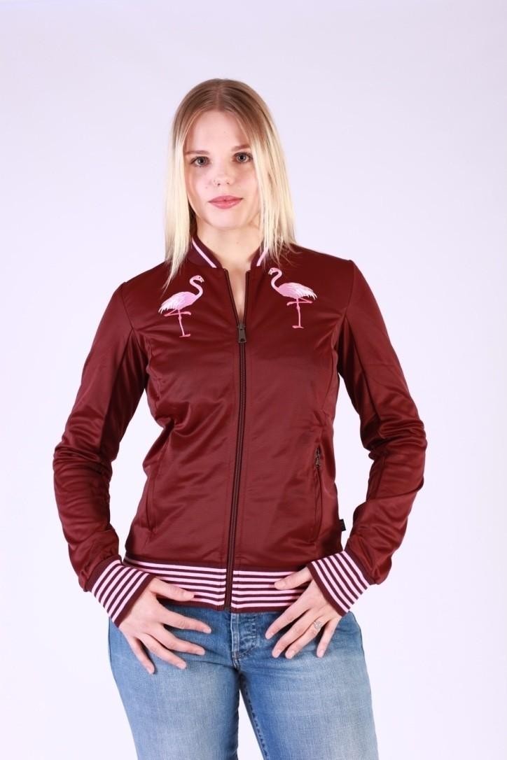 Sportjas Anne Flamingo Aubergine