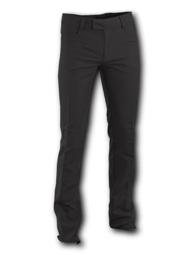 Pantalon recht model Zwart