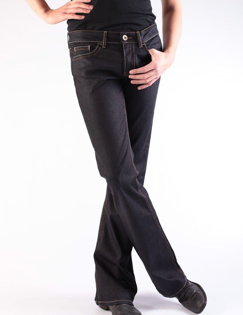 Jeans Fred Easy Donkerblauw