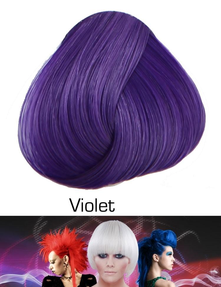 Semi Permanente Haarverf Violet