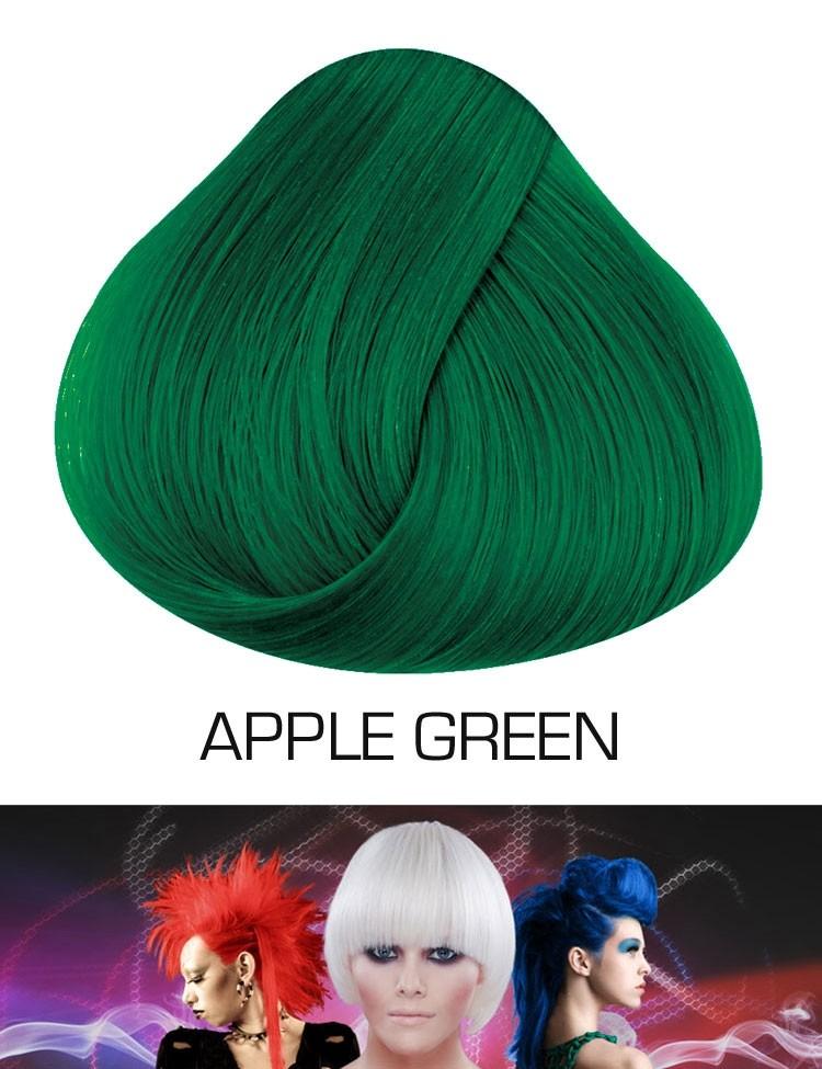 Semi permanente haarverf Apple Green
