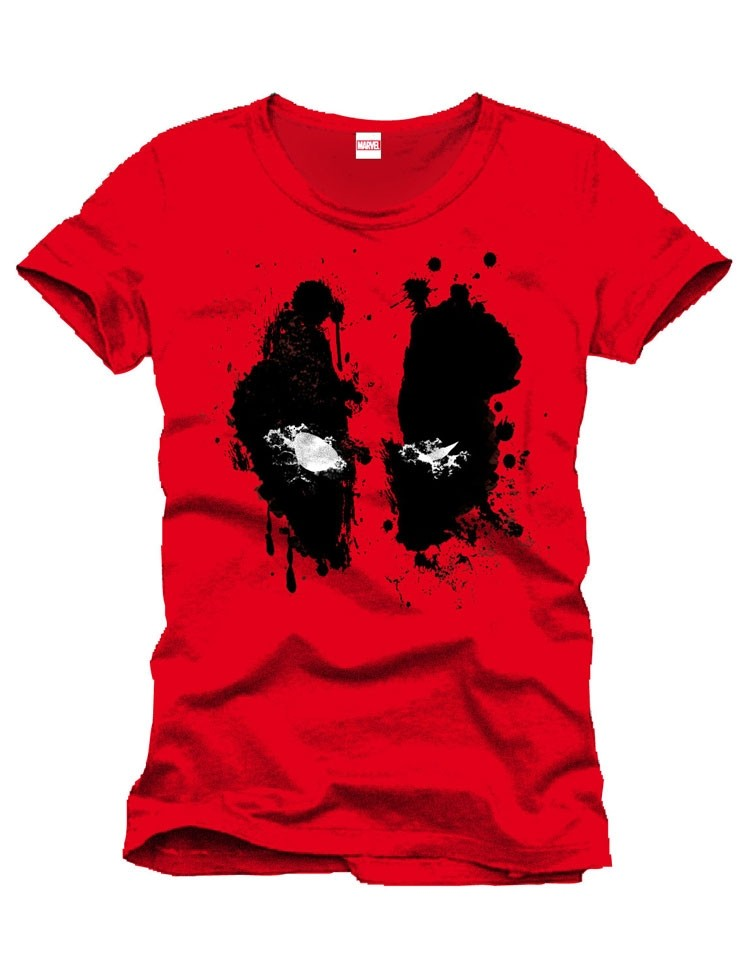 T-shirt Deadpool Splashed Head