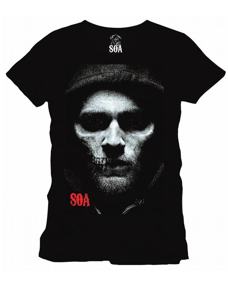 T-Shirt Half Jax Half Skull