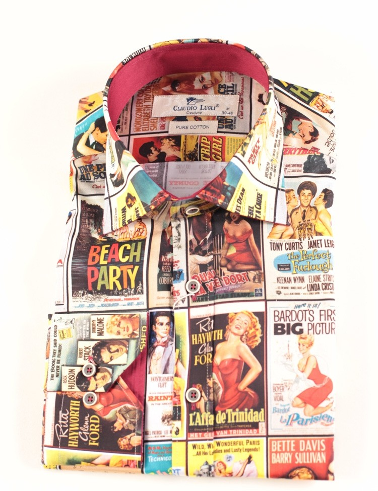 Overhemd Jaren 50 Film Poster print