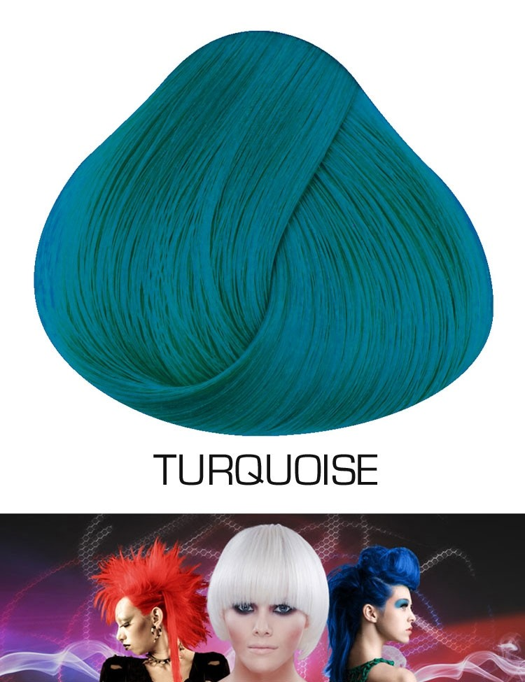 Semi Permanente Haarverf Turquoise