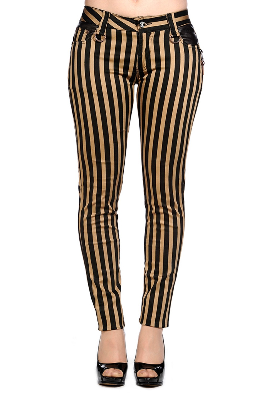 Skinny Steampunk Strips with Veggieleather