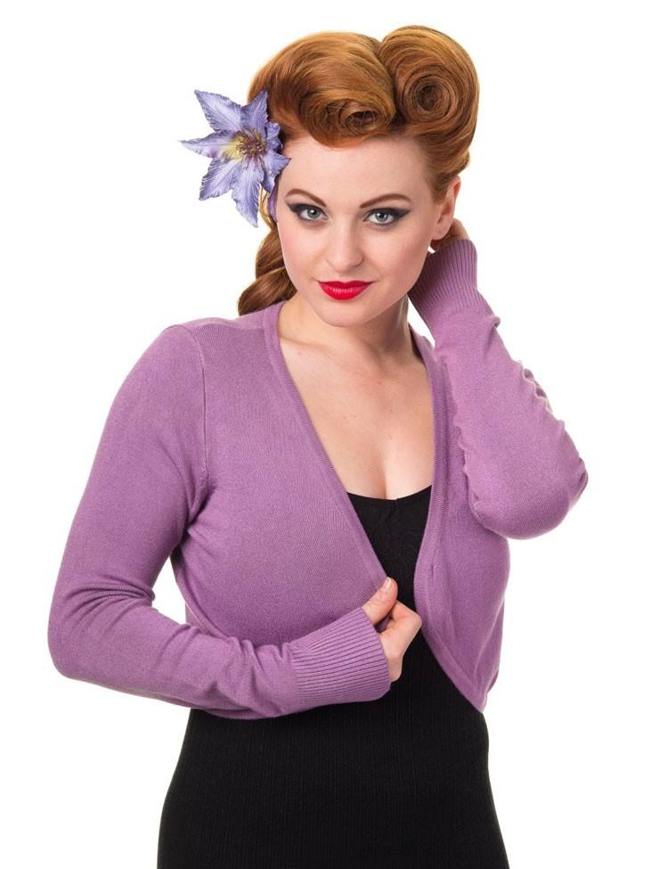Bolero effen Lavendel