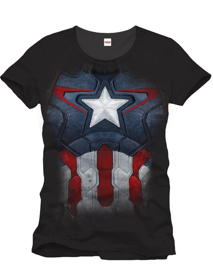 T-shirt Captain Americ Suit