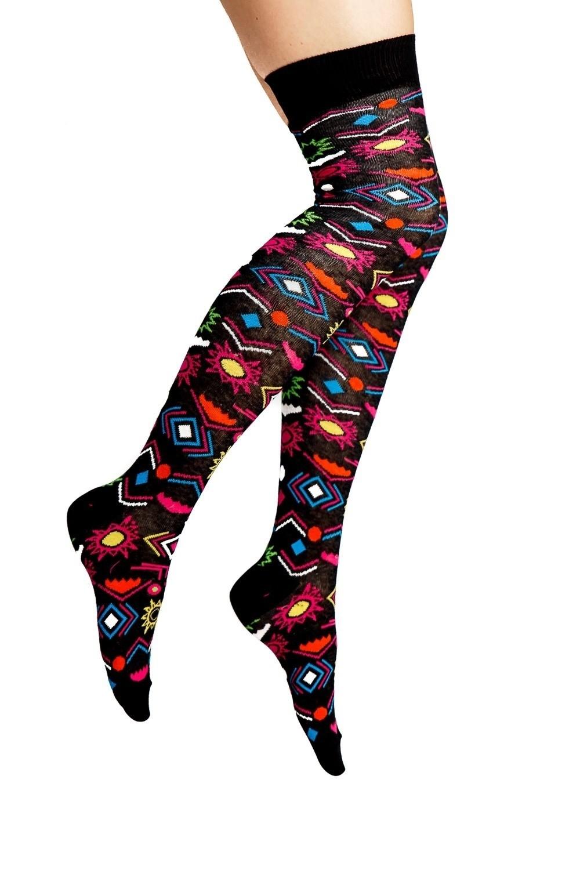 Kniesokken Aztech Multicolour