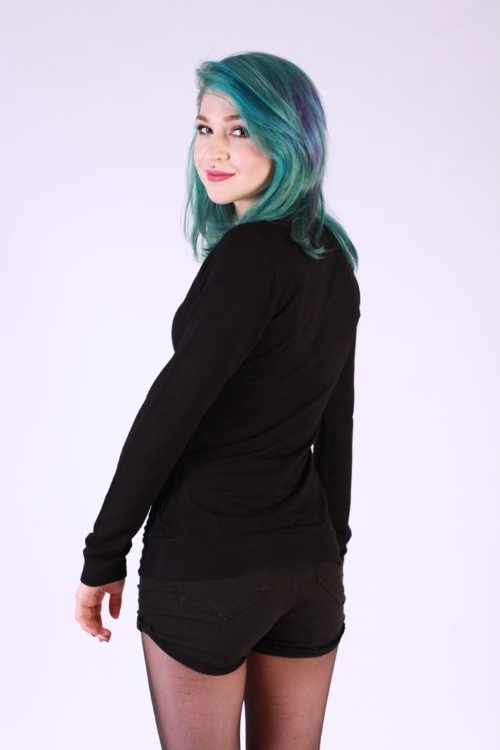 Shirt Emma Longsleeves Zwart