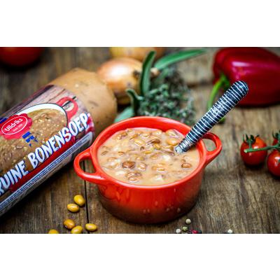 Foto van Bruinebonen soep