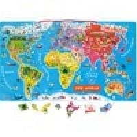 Foto van Janod Wereldkaart magnetisch - de wereld