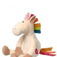 Foto van Sigikid Patchwork Sweety Unicorn white