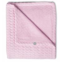 Foto van Jollein deken 100x150cm waffle pink
