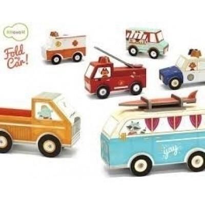 Bertoy Fold my Car 4 verschillende modellen.