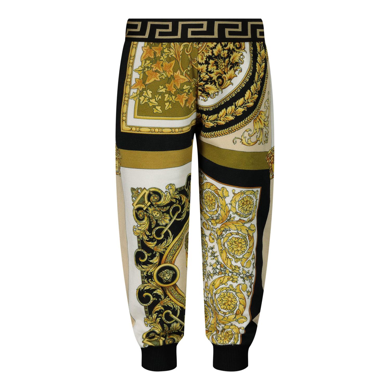 Afbeelding van Versace 1000336 babybroekje wit/goud