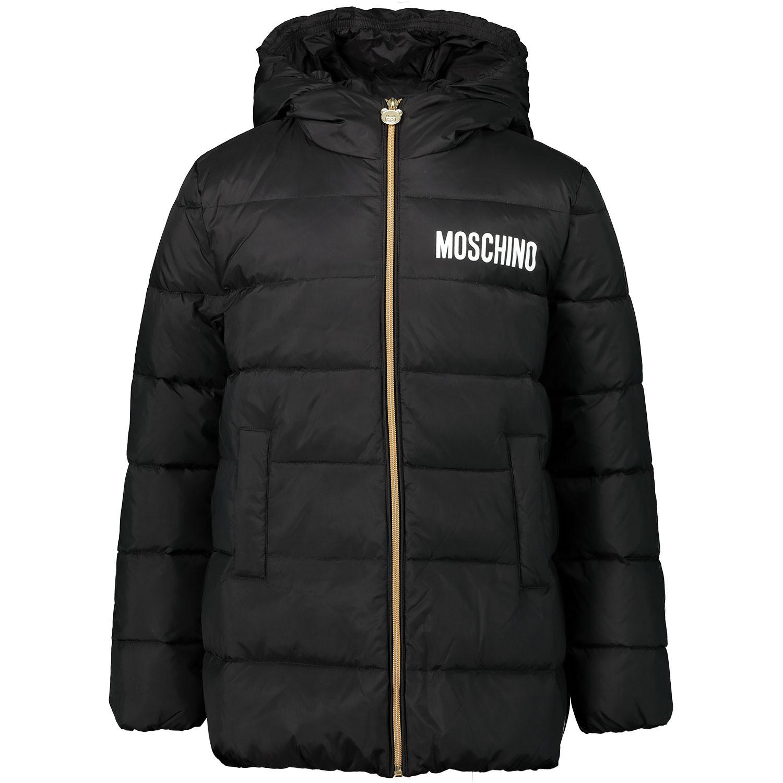 Afbeelding van Moschino HDS02Q kinderjas zwart