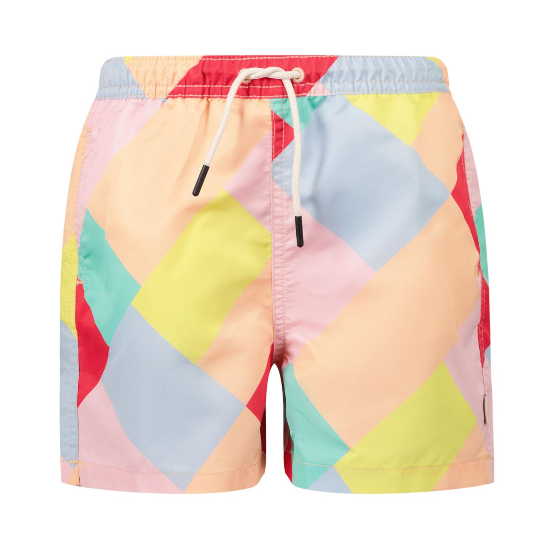 Afbeelding van SEABASS SWIMSHORT kinder zwemkleding licht roze