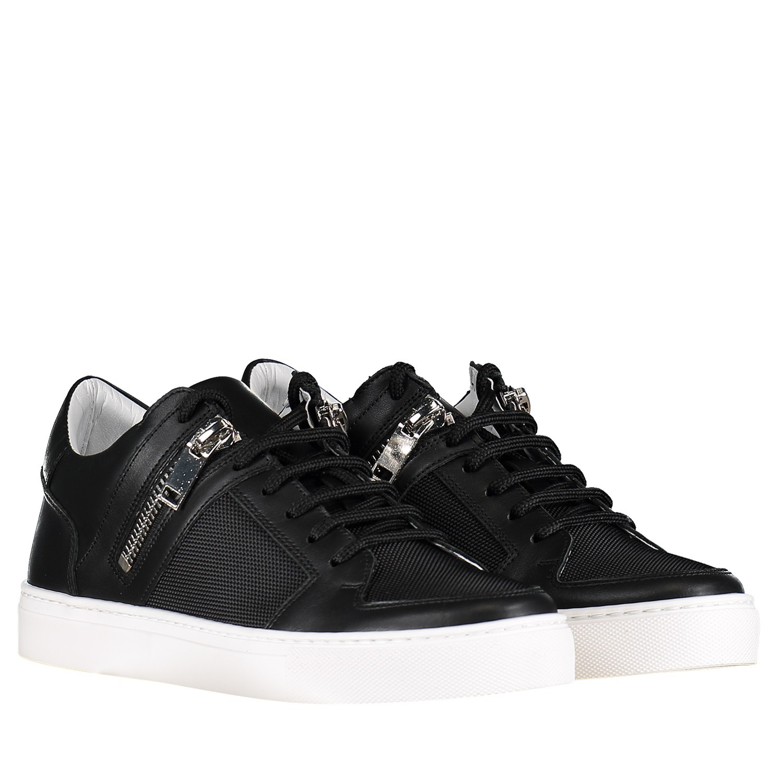 31c459b2cc9 Afbeelding van Antony Morato MMFW01118 heren sneakers zwart