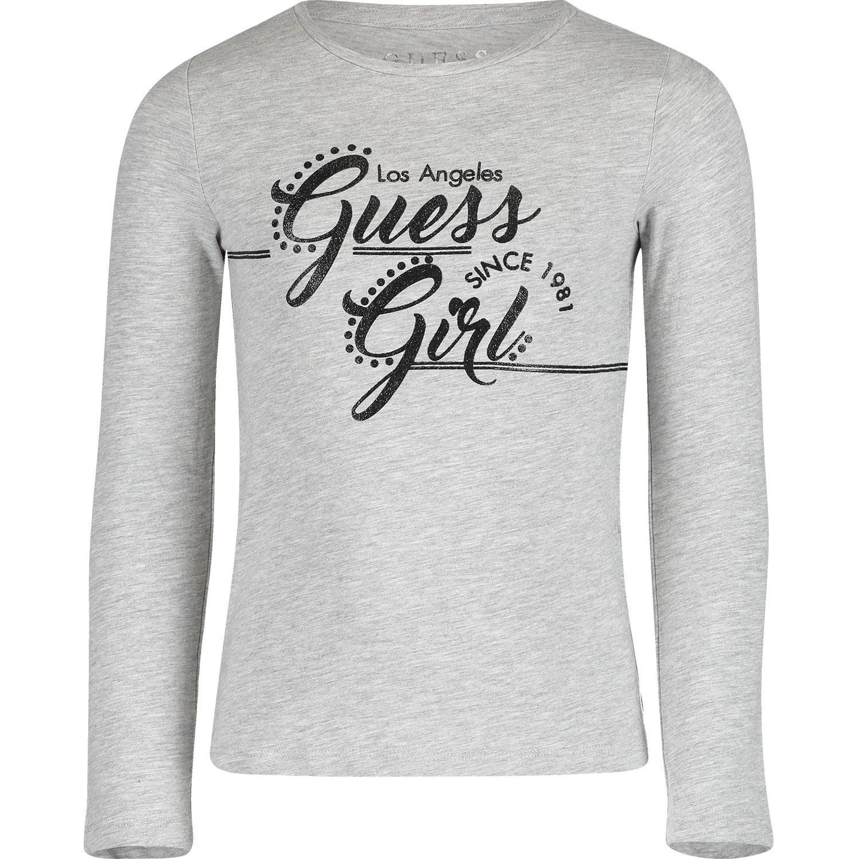 Afbeelding van Guess K91I01 kinder t-shirt grijs