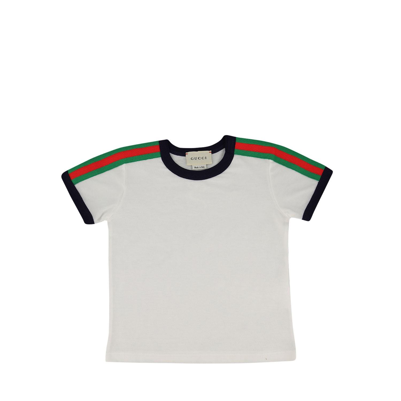 Afbeelding van Gucci 516305 baby t-shirt wit