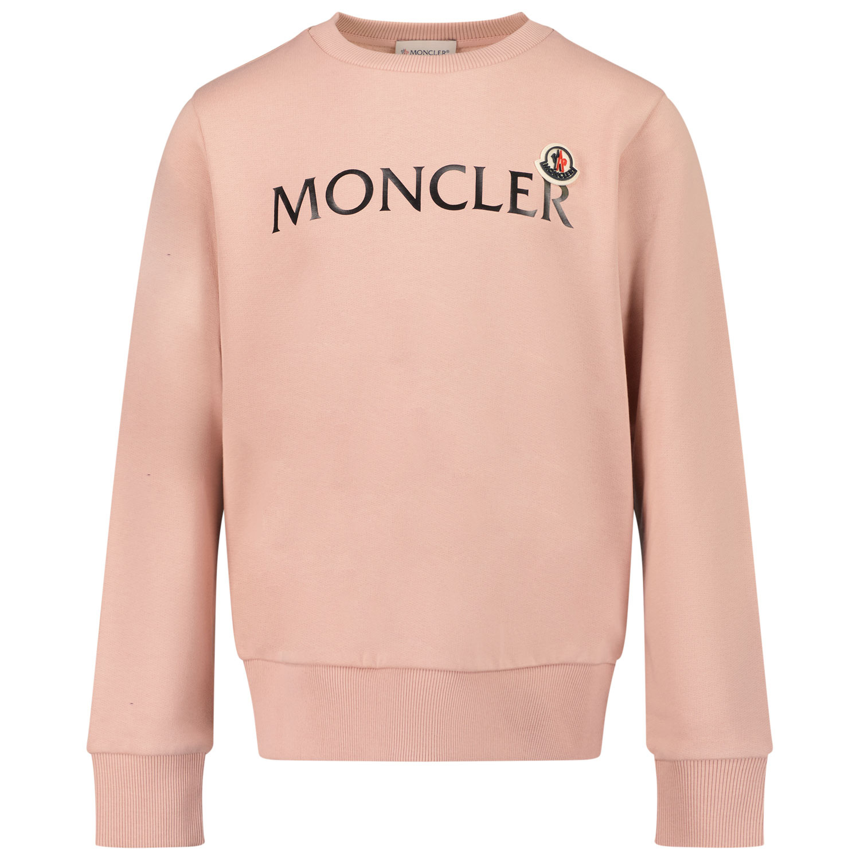 Afbeelding van Moncler 8G79700 kindertrui licht roze