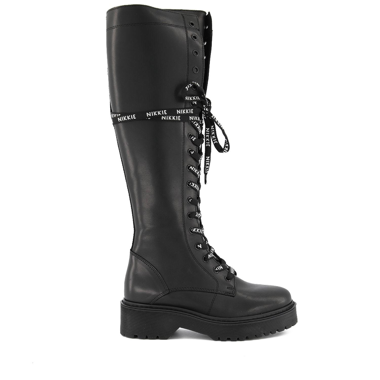 Afbeelding van Nikkie N9254 dames laarzen zwart