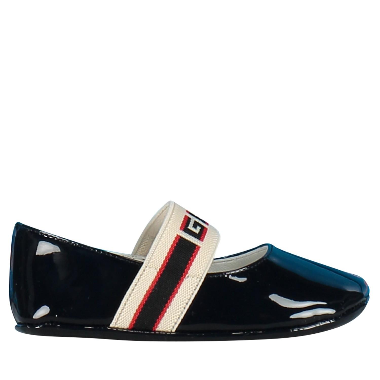 86a92ef4fac Afbeelding van Gucci 552925 babyschoenen blauw
