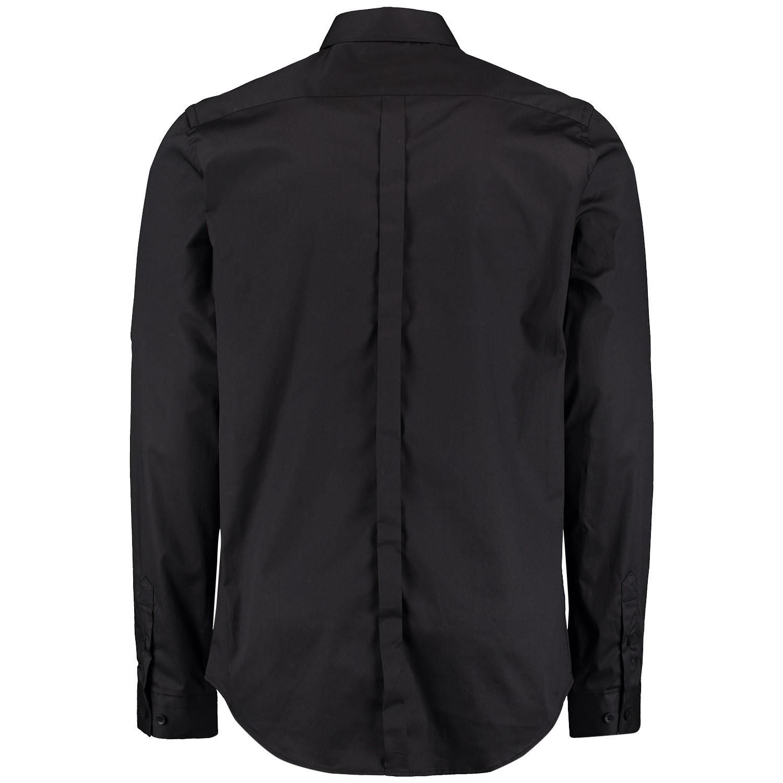 Overhemd Zwart Heren.Pure White 19010216 Heren Heren Overhemd Zwart Bij Coccinelle