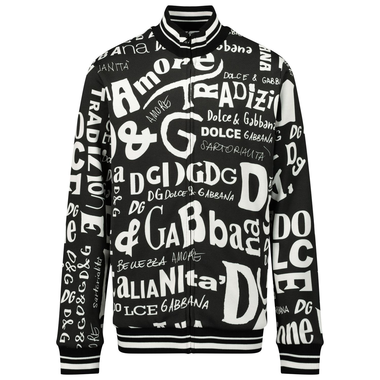 Afbeelding van Dolce & Gabbana L4JW3Q/HS7D7 kindervest zwart