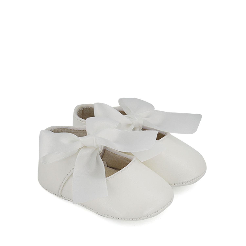 Afbeelding van Mayoral 9284 babyschoenen wit