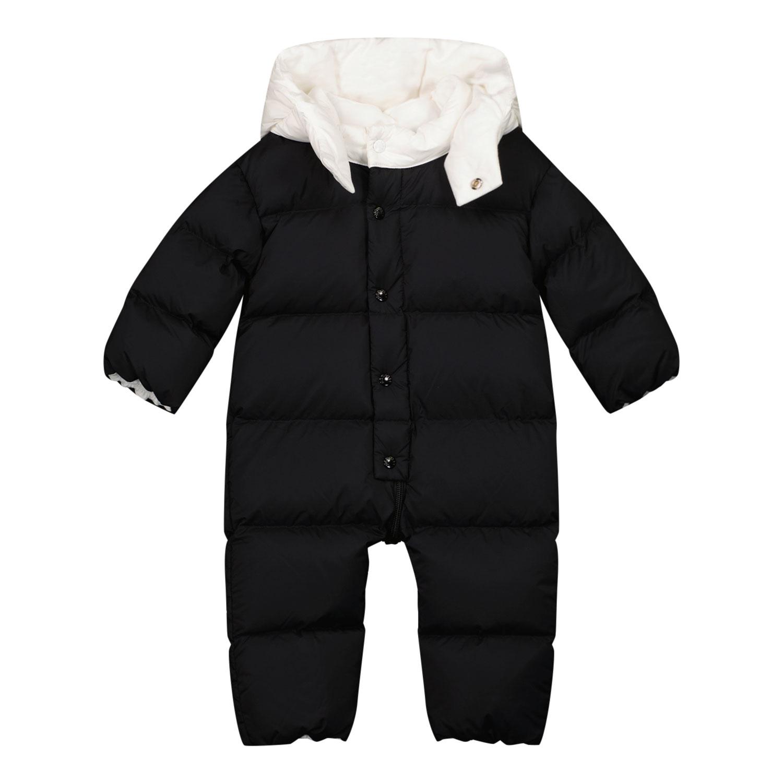 Afbeelding van Moncler 1G52100 baby skipak zwart