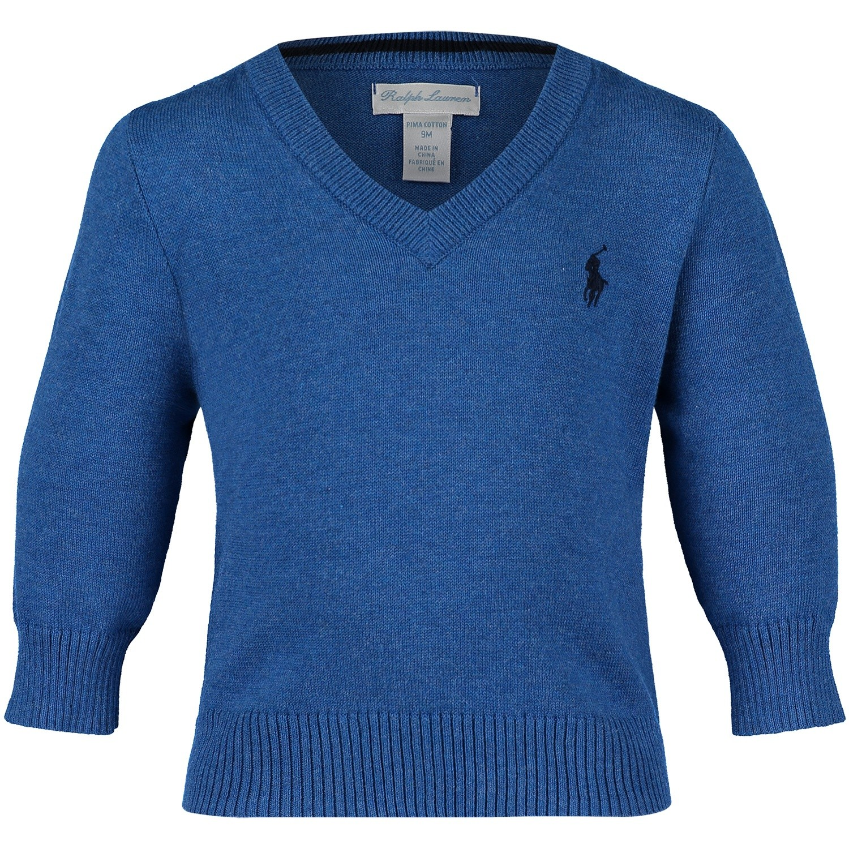 Afbeelding van Ralph Lauren 320702188 baby trui blauw