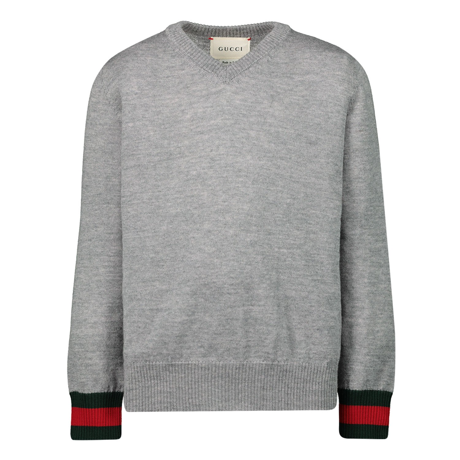 Picture of Gucci 418774 kids sweater light gray