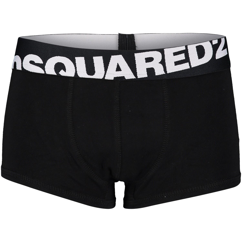 Picture of Dsquared2 DQ035V kids underwear black