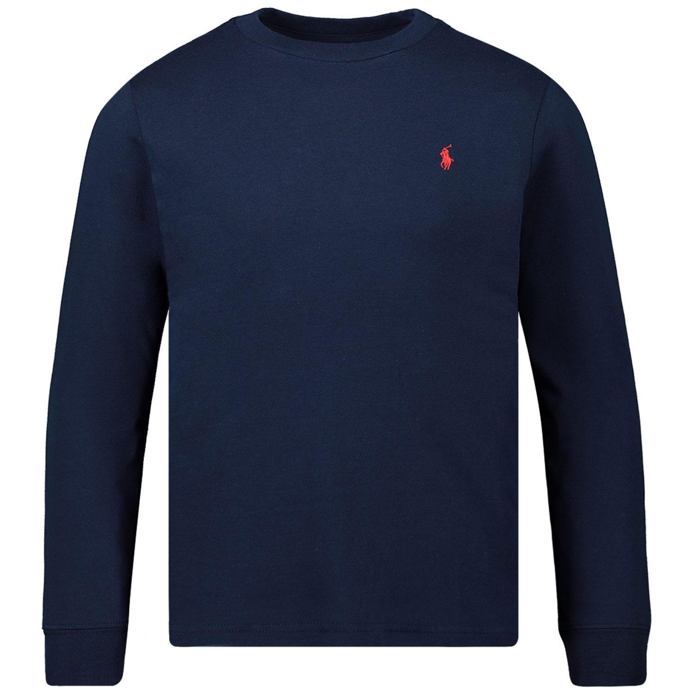 Afbeelding van Ralph Lauren 843804 kinder t-shirt navy