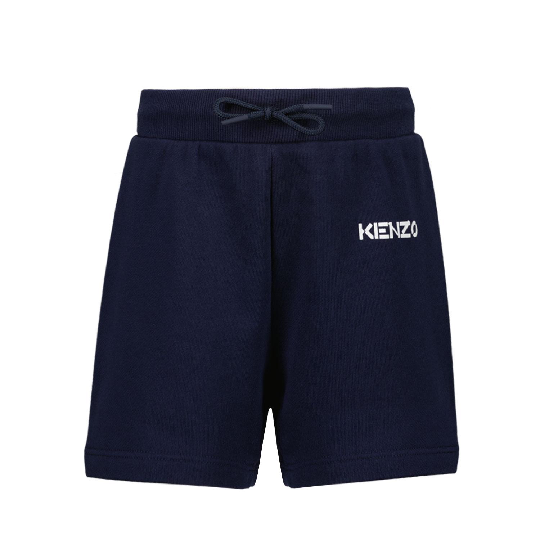 Afbeelding van Kenzo K04024 baby shorts navy