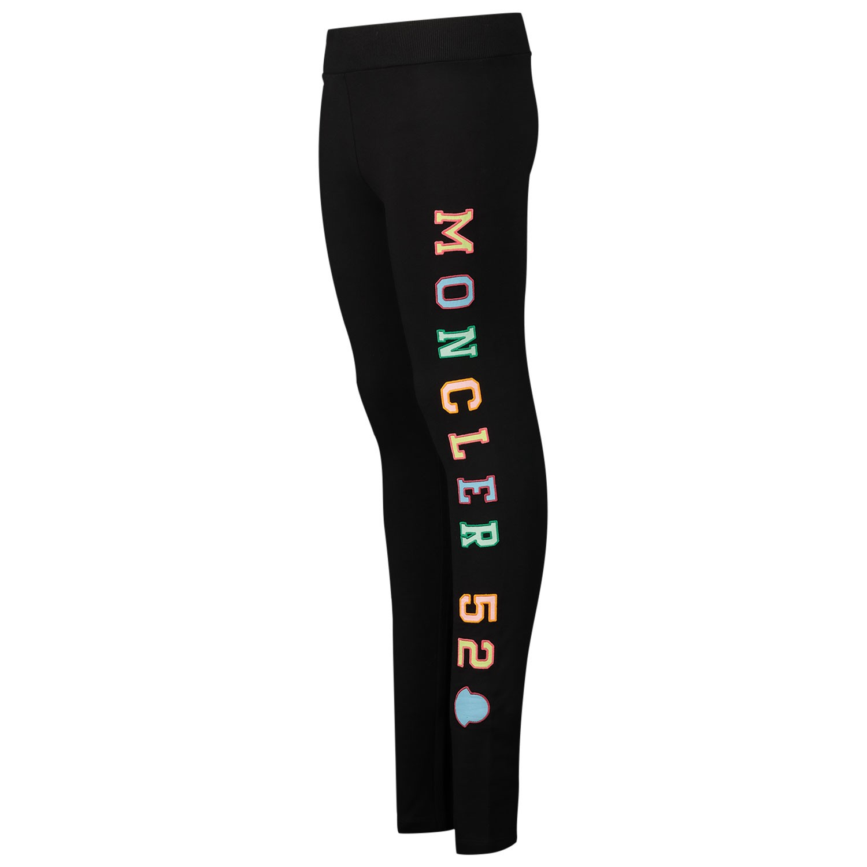 Afbeelding van Moncler 8H70910 kinder legging zwart